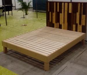 montage sommier bois non trait sommeil nature. Black Bedroom Furniture Sets. Home Design Ideas